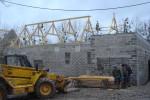 construction, charpente de maison, bois